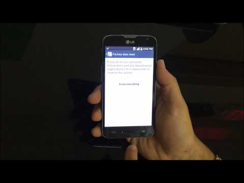 How To Reset LG Optimus L70 MS323 - Hard Reset and Soft Reset