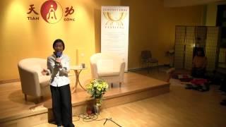 "Tiangong Meisterinnen Tianying und Tianping ""Lichtmeditation"""