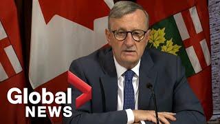 Coronavirus: Ontario reports 1,824 new COVID-19 cases, says uptick due to data error | FULL