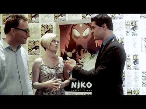 That's My Entertainment Interviews Tom Kenny &  Kari Wahlgren from Niko and the Sword of Light