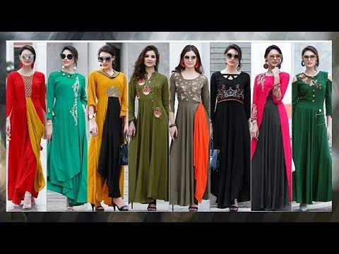 designer-long-kurti-designs|latest-party-wear-kurti-designs|latest-designer-kurti-2018|trendy-india