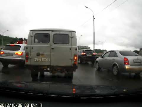 Г. Томск ,ДТП на ул  Каспийской 14. 06. 2018г вечер