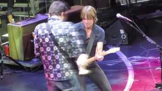 Don't Let Me Down - Keith Urban & John Mayer at Crossroads Guitar Festival