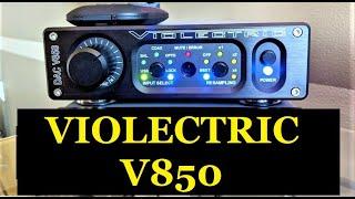 Violectric V850 Digital to Analog Converter  Review