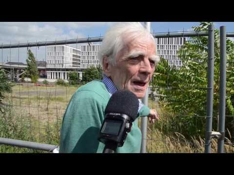 Hans-Christian Ströbele bei der #Hanfparade 2016