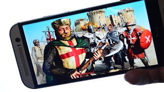 How To Play Stronghold Crusader On Android | Play PC Games On Android