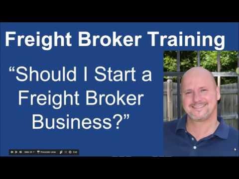 Should I Start a Freight Broker Business?