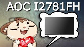 Обзор | Монитор AOC I2781FH [27] Кратко и по делу