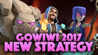 New Gowiwi Strategy 2017 | Gowiwi W/ EQ & Jump Spell | Clash Of Clans