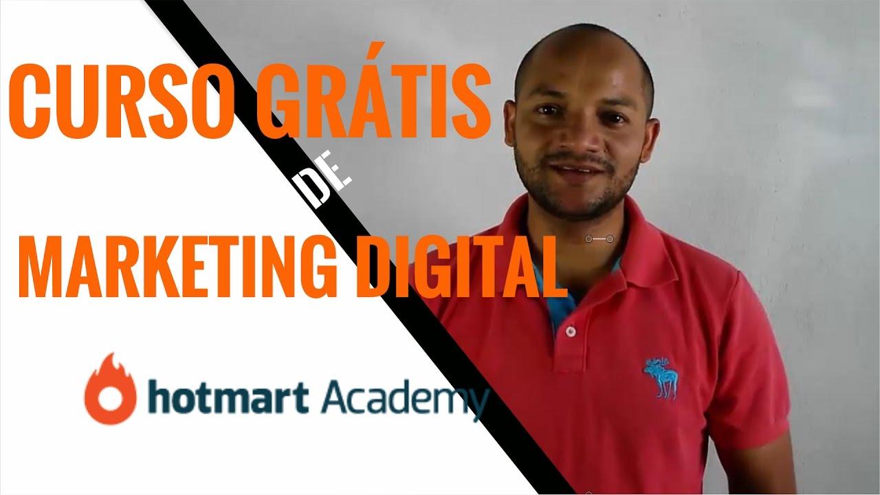 Curso Grátis de Marketing Digital Hotmart Academy |Cursos ...