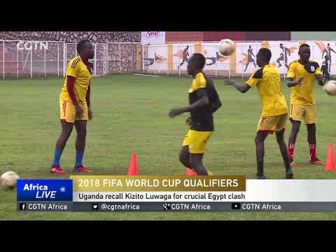 Uganda recall Kizito Luwaga for crucial Egypt clash