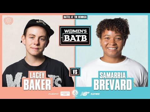 WBATB Finals   Lacey Baker vs. Samarria Brevard
