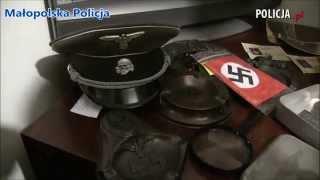 Polska Policja - Policjanci zlikwidowali arsenał broni oraz przejęli narkotyki