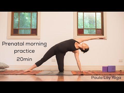 Prenatal Morning Practice 20min