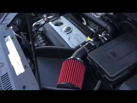 VOLKSWAGEN TIGUAN APR STAGE 1 ECU CTS TURBO COLD AIR INtAKE DRAG RACE VIDEO 1