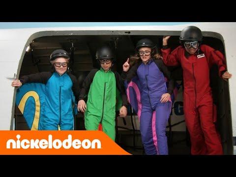 Nicky Ricky Dicky & Dawn | Lancio col paracadute | Nickelodeon Italia
