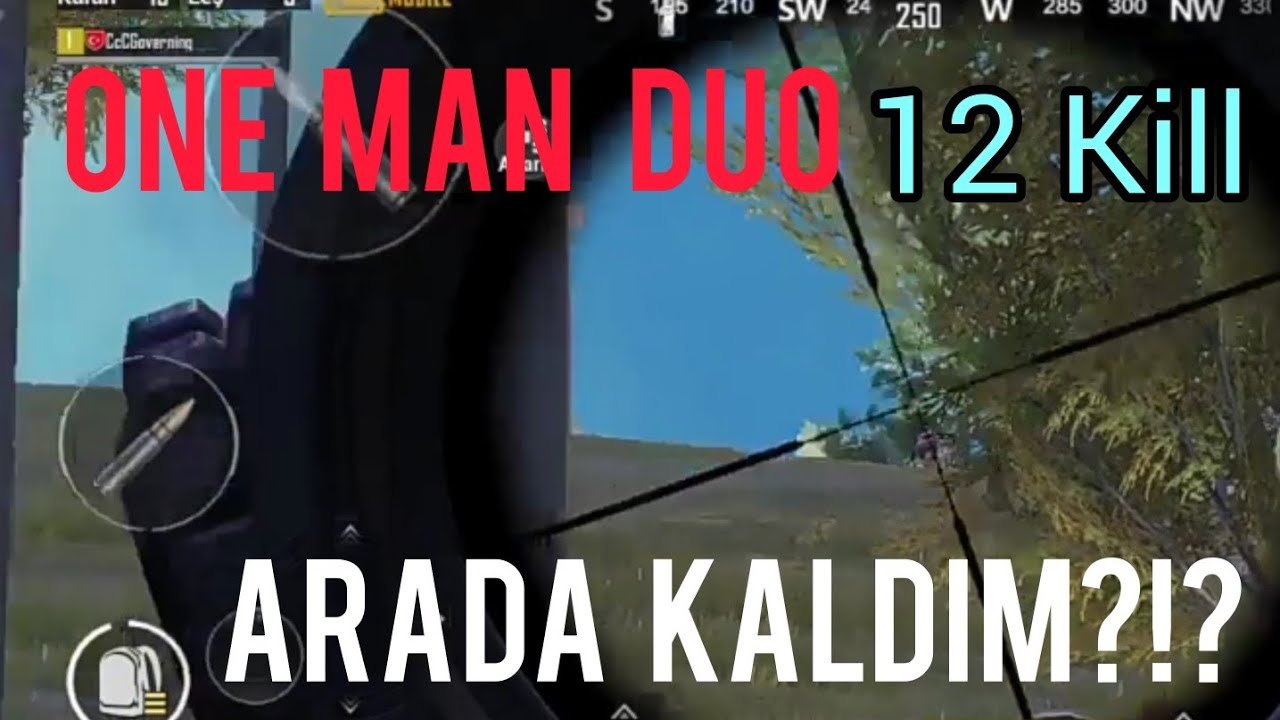 Arada Kaldım ?!? Pubg Mobile One Man Duo
