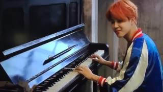 Gambar cover Park Jimin of BTS plays Wedding Dress by Taeyang on Piano