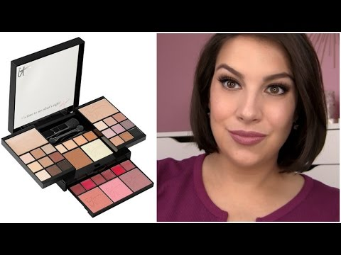 TOO GOOD TO BE TRUE? It Cosmetics All-in-One Palette Review thumbnail