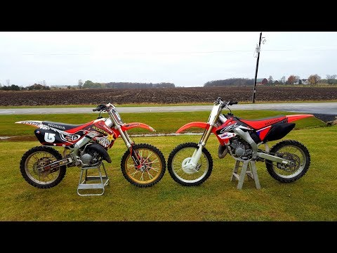 2007 Honda Cr 125 Vs 1999 Honda Cr 125!!!