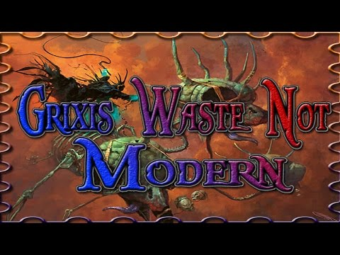 Grixis Waste Not vs Abzan Liege - Magic the Gathering