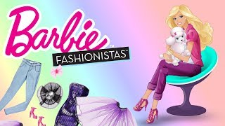 Barbie • Najnowsze ciuszki w garderobie Barbie • bajka po polsku