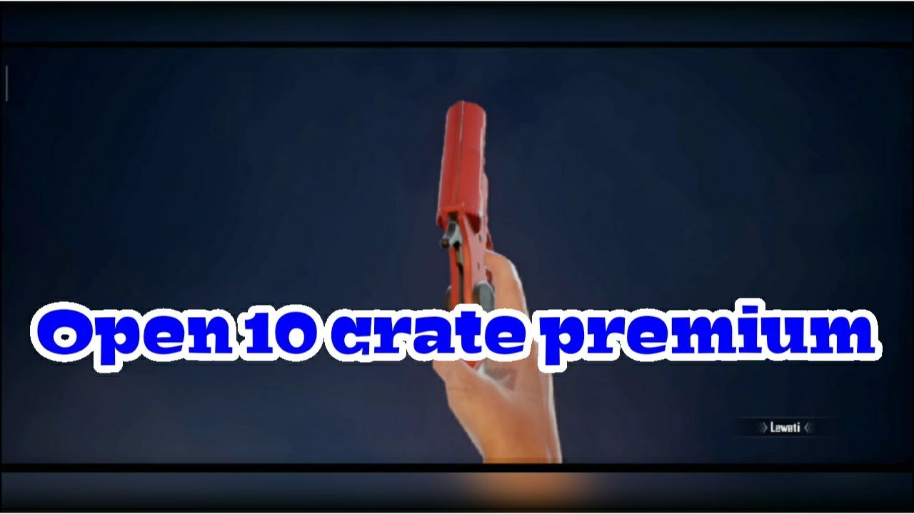 Open 10 Crate Premium - PUBG Mobile