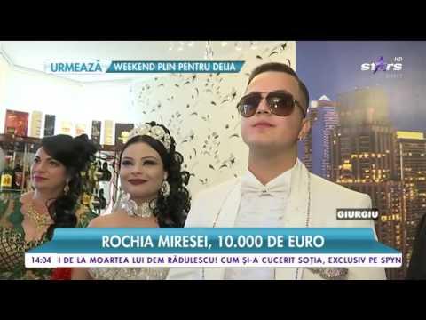 Nuntă de basm în Giurgiu! Florin Salam, invitatul surpriză!