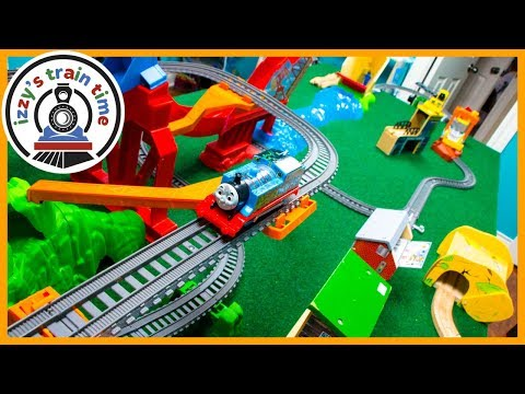 Thomas and Friends Trackmaster! Sky High Bridge Jump Playset! Fun Toy Trains for Kids