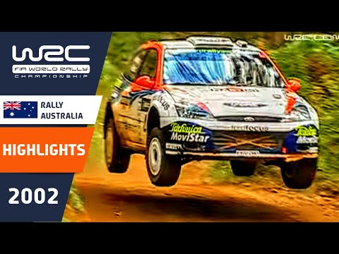 WRC Daily Highlights: Australia 2002 Day 1: 26 Minutes