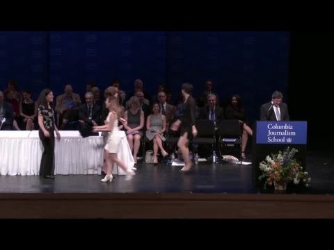 Columbia Journalism School Graduation 2017