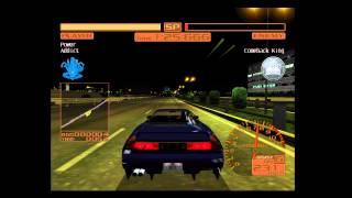 Shutokou Battle 2 (Tokyo Xtreme Racer 2) - Blue Blitzrunner vs. Comeback King