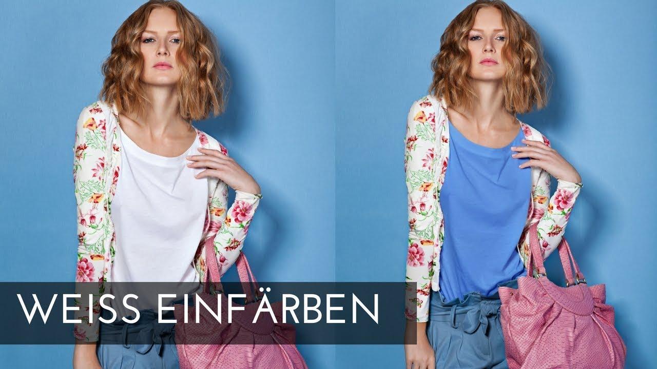 weiß umfÄrben | photoshop tutorial ( german/deutsch )