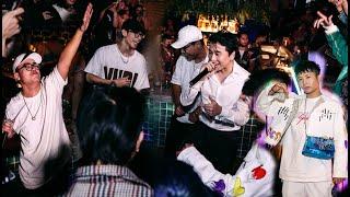 KARIK, G-DUCKY, RIKY STAR đốt cháy Bam Bam Club, lần đầu diễn chung của 3 thầy trò hậu Rap Việt 🔥🔥