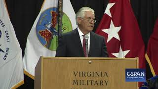 Word for Word: Former Secretary of State Tillerson On Truthfulness (C-SPAN)