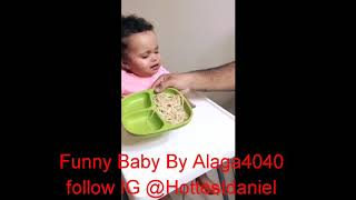 Funny Baby Acting Weird
