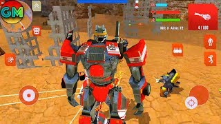 Royal Robots Battleground #5  New Game | by Naxeex Corp | Android GamePlay FHD