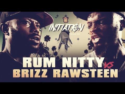 BRIZZ RAWSTEEN VS RUM NITTY SMACK RAP BATTLE   URLTV