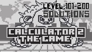 Calculator 2 The Game Levels 101-200 Solution | All 100 Levels Guide