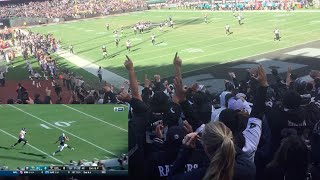 LAST RAIDERS GAME IN OAKLAND (BLACK HOLE)