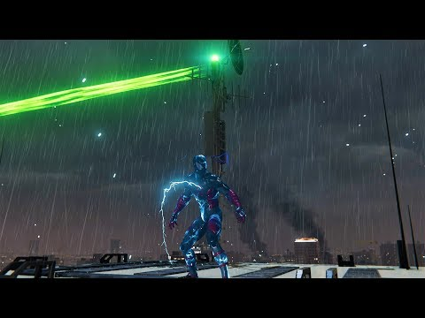 Lighting Rod Mission w/Electrically Insulated Suit - SPIDER-MAN PS4