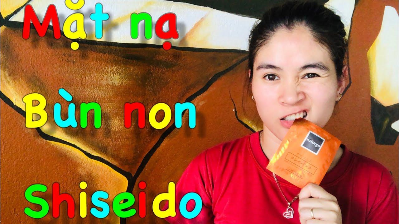 Thử Mặt Nạ Bùn Non Shiseido Naturgo Nhật Bản!| VAN TRAN Story