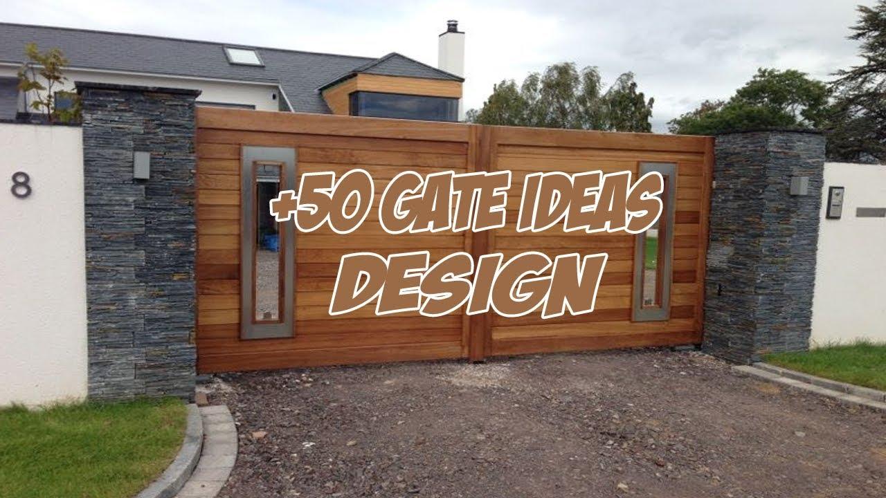 50 CREATIVE GATE DESIGN IDEAS 2018 (MAIN GATE DESIGN 2018