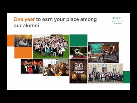 INSEAD MBA Programme overview