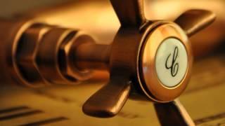 www.millenium-lazienki.pl - Bateria GIOIRA & REDI - Armatura retro - Ekskluzywne włoskie baterie(Przytulny i sentymentalny styl retro w połączeniu z wykończeniem w starej miedzi zyskuje coraz więcej zwolenników w aranżacji wnętrza łazienki oraz kuchni., 2014-01-26T13:28:35.000Z)