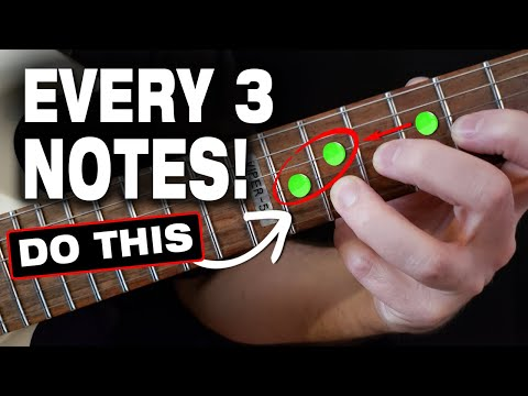 Do This AFTER Every 3 Notes: BETTER Solos & Riffs (INSTANT RESULTS!)