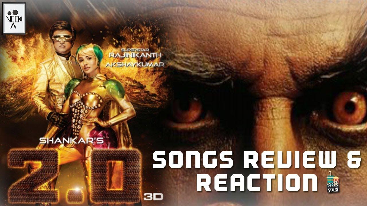 2.0 Songs Review and Reaction | Rajinikanth | Shankar | AR Rahman ...