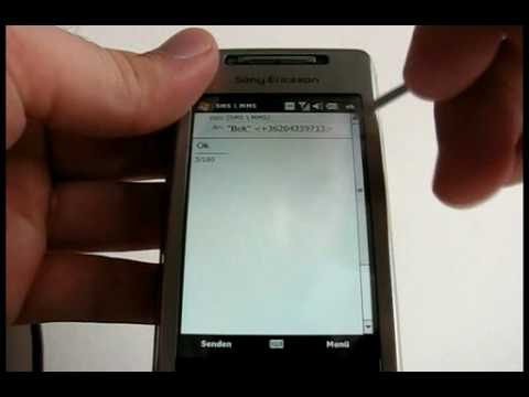 Sony Ericsson Xperia X1 hands-on