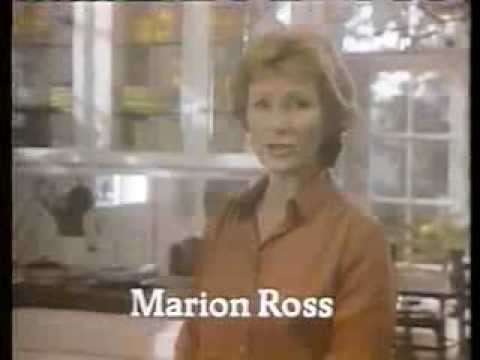 Marion Ross 1981 Seneca Apple Juice Commercial