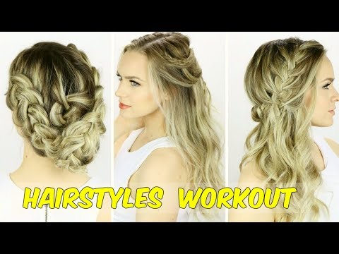 7 easy hairstyles that you can wear to work  youtube